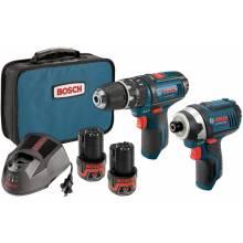BOSCH CLPK241-120 12V Max 2-Tool Combo Kit (PS130 & PS41) w/ (2) 2.0Ah Batteries