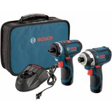 BOSCH CLPK27-120 12V Max 2-Tool Combo Kit (PS21 & PS41) w/ (2) 2.0Ah Batteries