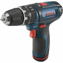 BOSCH PS130-2A 12V Max Hammer Drill Kit w/ (2) 2.0Ah Batteries