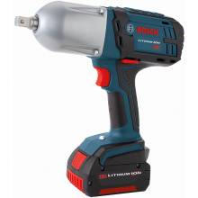 BOSCH HTH181-01 18V High Torque Impact Wrench w/ Pin Detent w/ (2) FatPack Batteries (4.0Ah)