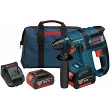 "BOSCH RHH181-01 18V 3/4"" SDS-plus® Brushless Rotary Hammer w/ (2) FatPack Batteries (4.0Ah)"