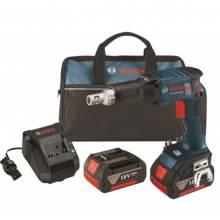 BOSCH SGH182-01 18V Brushless Screwgun w/ (2) FatPack Batteries (4.0Ah)
