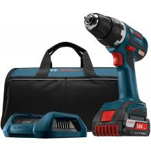 BOSCH DDS182WC-102 18V Brushless Compact Tough™ Drill Driver, Charger, Frame & Wireless Charge SlimPack Battery (2.0Ah)