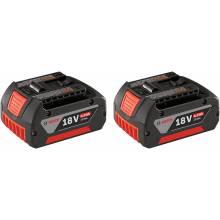 BOSCH BAT620-2PK 18V Lithium-Ion FatPack Battery (4.0 Ah) - 2-Pack