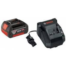 BOSCH SKC181-101 18V Starter Kit - (1) FatPack Battery (4.0Ah) & Charger