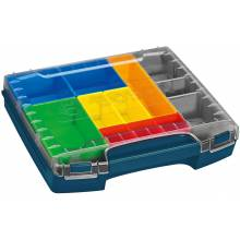 BOSCH i-Boxx72-10 Closed Case Drawer (Thick) w/ Set of 10 Organizers for L-Boxx-3D