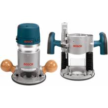 BOSCH 1617EVSPK 2.25 HP Electronic Variable Speed Plunge & Fixed-Base Router Combo Kit