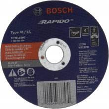 BOSCH TCW1S400 4 x .040 x 5/8 Type 1 Thin Cutting Disc AS60INOX-BF for Stainless/Metal  (Bulk)