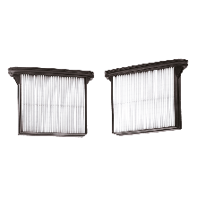 BOSCH VAC019 HEPA Air Filters for 3931-Series (Pack of 2)