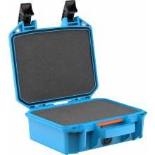 Pelican V100C SMALL CASE WL/WF BLUE