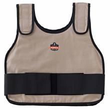 Chill-Its 6235 L/XL Khaki Standard Phase Change Cooling Vest - Vest Only