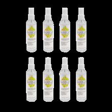 SaniGo - Industrial Grade Disinfectant Spray, Isopropyl Alcohol 70% - 4oz w/ Pump Sprayer, Case of 8