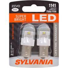 Sylvania Automotive 31979 SYLVANIA ZEVO 1141 White LED Bulb, (Contains 2 Bulbs)