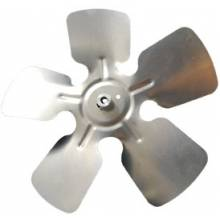 "Packard A60804 Small Aluminum Fan Blade With Hubs 8"" Diameter 1/4"" Bore CW Rotation"