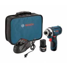 BOSCH PS41-2A 12V Max Impact Driver Kit w/ (2) 2.0Ah Batteries