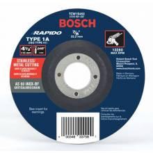 BOSCH TCW1S450 4-1/2 x .040 x 7/8 Type 1 Thin Cutting Disc AS60INOX-BF-Stainless/Metal  (Bulk)