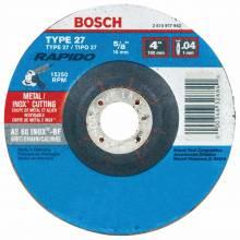 BOSCH TCW27S400 4 x .040 x 5/8 Type 27 Thin Cutting Disc AS60INOX-BF for Stainless/Metal  (Bulk)
