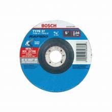 BOSCH TCW27S500 5 x .040 x 7/8 Type 27 Thin Cutting Disc AS60INOX-BF for Stainless/Metal  (Bulk)