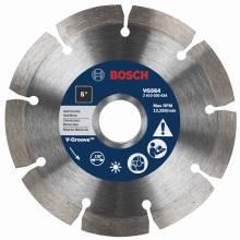 """BOSCH VG564 5"""" x 7/8"""" segmented v-groove diamond blade for hard material"""