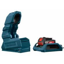 BOSCH WC18CHF-102 18V Wireless Charger Starter Kit - (1) Wireless Charge SlimPack Battery (2.0Ah), Charger, Holster & Frame