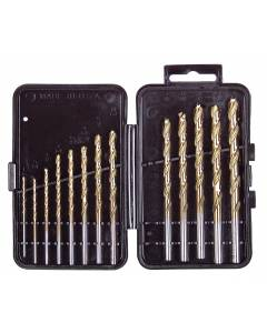 VA 12385 13 Pc. Titanium Drill Bit Set