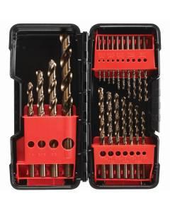 VA 12720 20 Pc.Gold Oxide Drill Bit Set