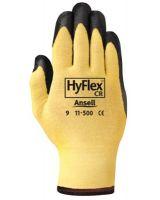 Ansell 012-11-500-10 Hyflex 11-500 Yl Kevlarw Nitfm Assm Glv 10 (Qty: 12)