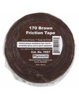 "Plymouth Bishop 040-1057 2""X70' #170 Brown Friction Tape (Qty: 1)"