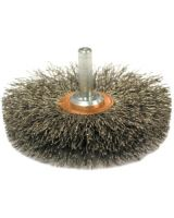 """Anderson Brush 09145 Ssm-30 Ss 3""""Dia. Singlesection Crimped Wir"""