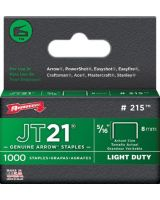 "Arrow Fastener 215 5/16"" Staples F/Staple Gun Tacker 1000/Pk"