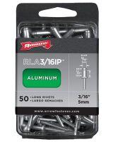 Arrow Fastener Rlfa3/16Ip (30/Pc) Large Flange Long 3/16 Aluminum Rivet