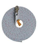 Dbi/Sala 1202821 5/8 Lifeline Polyester/Polypropylene Snap Hook