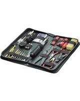 Fellowes Premium Computer Tool Kit-55 Piece - Black