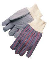 Anchor Brand 101-2010 Anchor 3863 Leather Palmknit Wrist Cotton (Qty: 12)