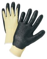 Anchor Brand 6010-L Anchor 6010L 13 Ga Kevlar Knit Black Foam Palm