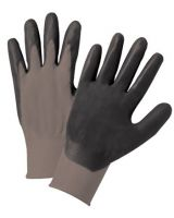 Anchor Brand 101-6020-Xl Anchor 6020Xl Grey Nylonknit Dk Grey Foam Palm (12 PR)