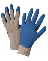 Anchor Brand 101-6030-M Anchor 6030-M Premium Grey Knit Blue Latex Palm (1 DZ)