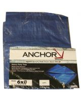 Anchor Brand 1212 Mt1212 12'X12' Polyethylene Tarp Woven Reinforce