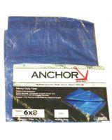 Anchor Brand 0608 Anchor 11004 6' X 8' Polyethylene Tarp