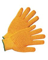 West Chester 813-708Skh/L Yellow Knit W/Honey Combfinish On Both Sides (12 PR)