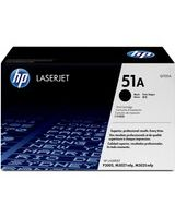 HP 51A (Q7551A) Black Original LaserJet Toner Cartridge - Laser - 6500 Page - 1 Each
