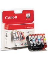 Canon BCI-6 Color Ink Cartridges - Inkjet - 1 Each