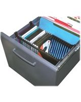 "MASTER - Media File Rack CD Holder - 6.3"" Height x 5.4"" Width x 12.8"" Depth"