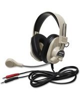 Deluxe Multimedia Stereo Wired Headset 3.5Mm Plug Via Ergoguys - Stereo - Mini-phone - Wired - 300 Ohm - 20 Hz - 20 kHz - Nickel Plated - Over-the-head - Binaural - Ear-cup - 7 ft Cable