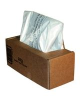 """Fellowes Waste Bags for 125 / 225 / 2250 Series Shredders - 20 gal - 36"""" Height x 18"""" Width x 13"""" Depth - Clear"""