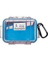 "Pelican 1010 Multi Purpose Micro Case - 4.06"" x 2.12"" x 5.88"" - Blue"