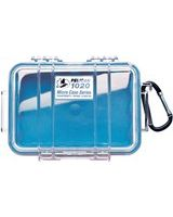 "Pelican 1020 Multi Purpose Micro Case - 4.75"" x 2.12"" x 6.82"" - Blue"