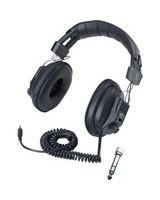 Califone Switchable Stereo/Mono - Mono, Stereo - Black - Mini-phone - Wired - 36 Ohm - Over-the-head - Binaural - Ear-cup - 10 ft Cable