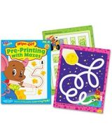 Trend PK-K Pre-Printing With Mazes Wipe-Off Book Education Printed Book - Book - 28 Pages