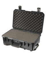 "Hardigg Storm Case Storm Trak iM2500 Shipping Case with Cubed Foam - Internal Dimensions: 20.50"" Width x 11.50"" Depth x 7.20"" Height - External Dimensions: 21.7"" Width x 14.1"" Depth x 8.9"" Height - Press & Pull Latch Closure - Resin - Black"